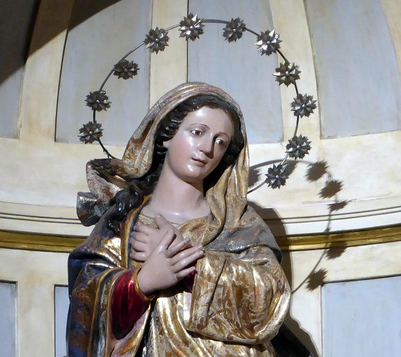 Advocacion Retablo de la Inmaculada Concepción (Bermeo)