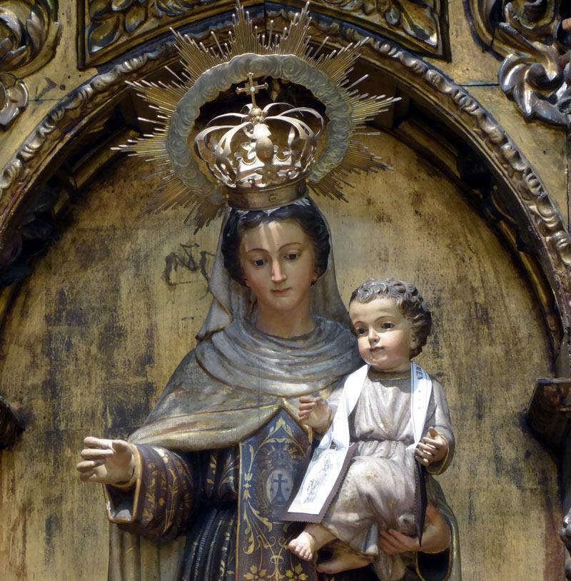 Advocación Retablo de la Virgen del Carmen (Bilbao)