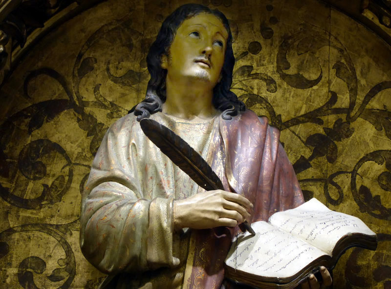Advocación Retablo de San Juan Evangelista (Bilbao)