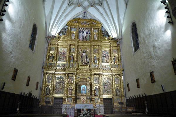 retablo mayor de San Juan Bautista