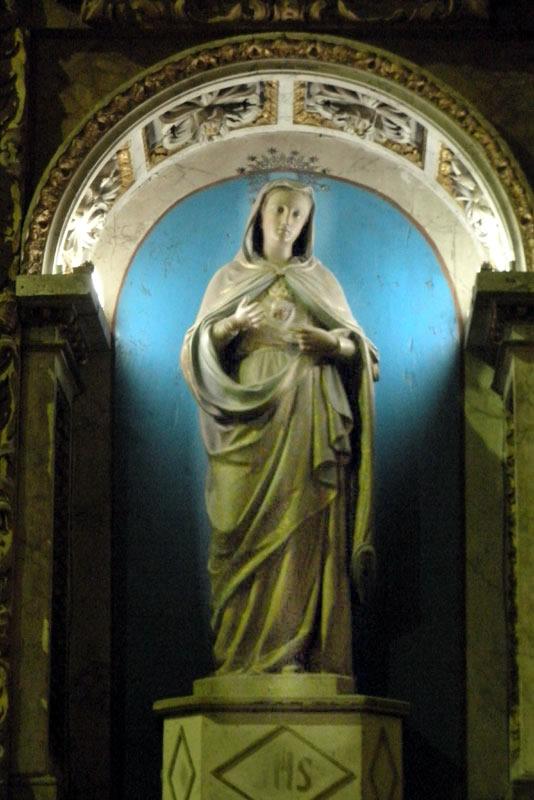 Advocacion Retablo Lateral del Corazón de María (Orduña)