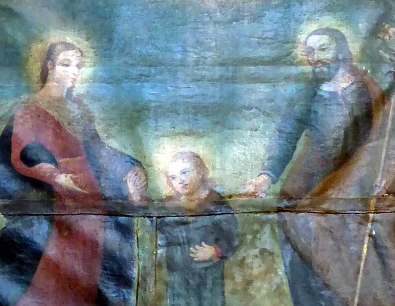 Advocacion Retablo de la Sagrada Familia (Orduña)