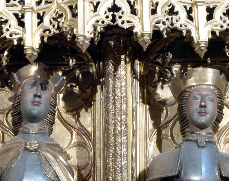 Advocación Retablo Mayor de los Santos Emeterio y Celedonio (Larrabetzu)
