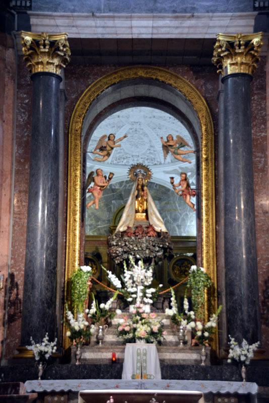 Advocacion Santuario de Santa María de la Antigua
