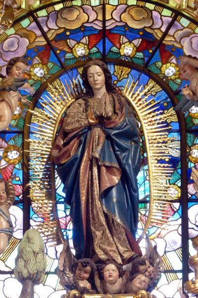 A.- Inmaculada Concepción.