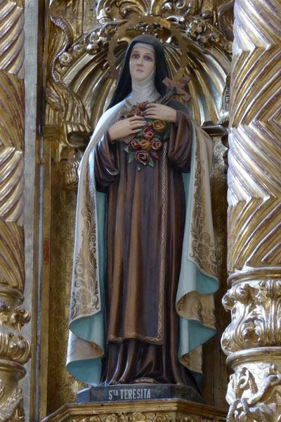 a. Santa Teresa de Lisieux.