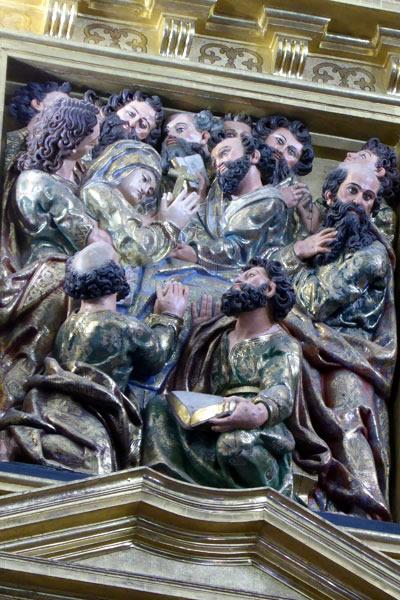 6.- Dormición de la Virgen.