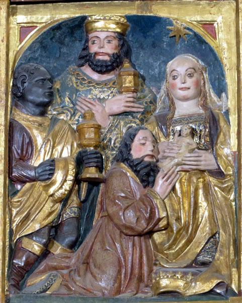 6.-Adoración de los Magos o Epifanía.