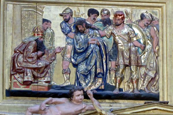 10.- Jesús ante Anás.