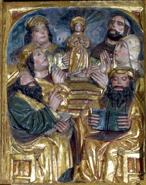 11.- Cristo entre los Doctores.