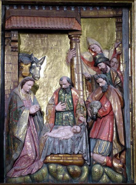 2. Adoración de los pastores.