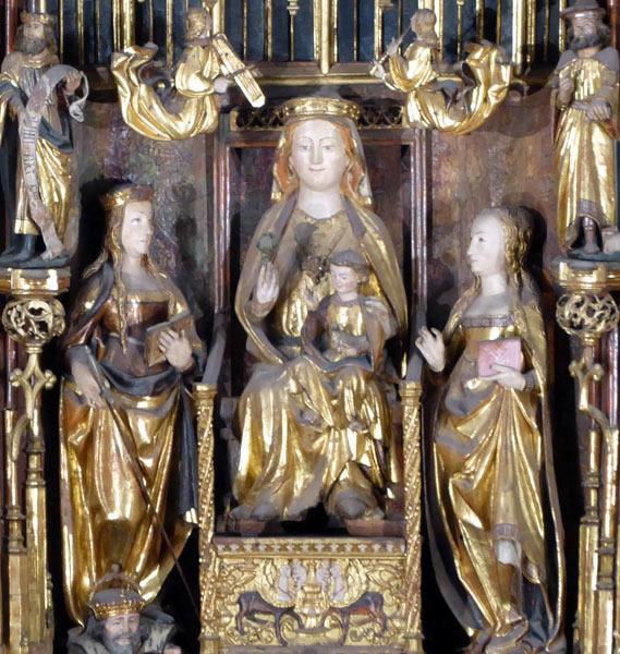 A. Virgen con el Niño .