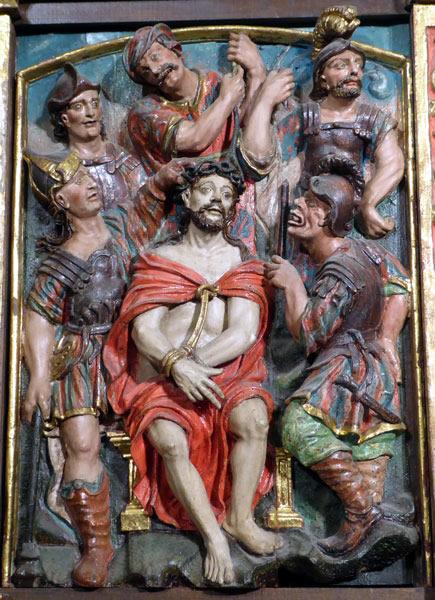 13.- Coronación de espinas.
