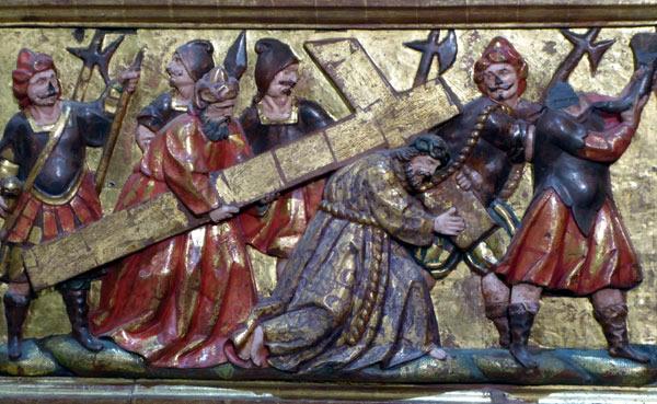 10. Cristo con la cruz a cuestas.