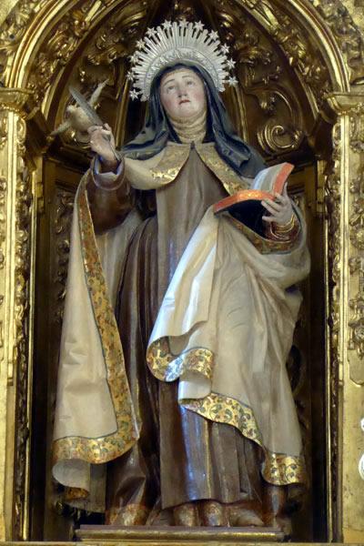 A. Santa Teresa de Ávila.