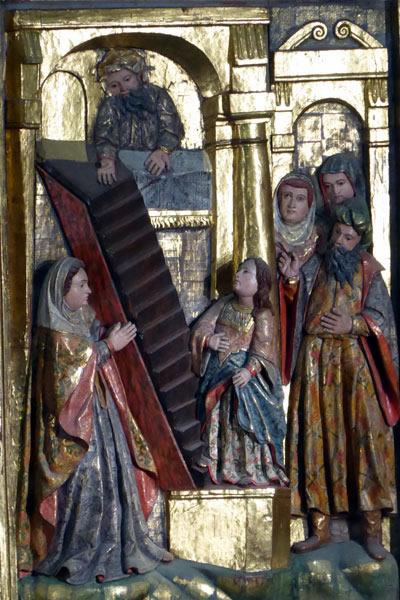 6. Presentación de María en el Templo.