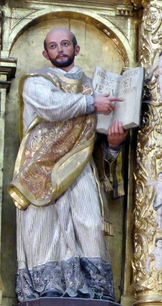 f. San Ignacio de Loiola.