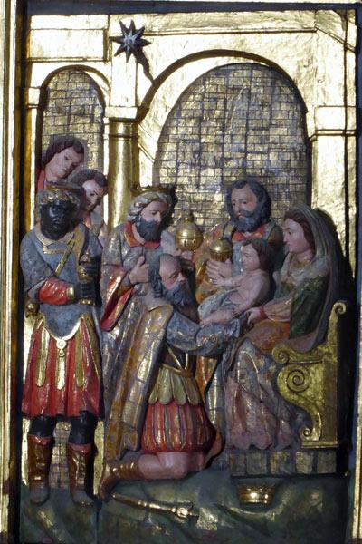 4. Adoración de los Magos o Epifanía.