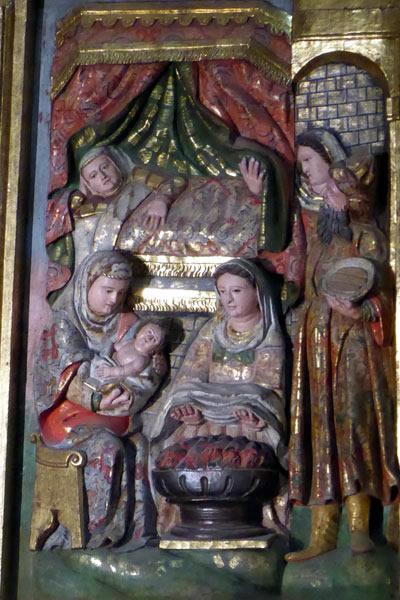 5. Nacimiento de la Virgen.