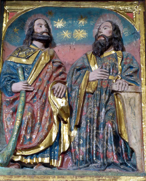 a5. Santiago el Menor y San Mateo.