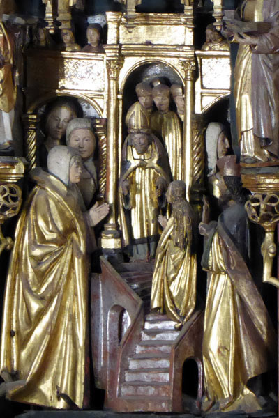 3. Presentación de la María en el templo.