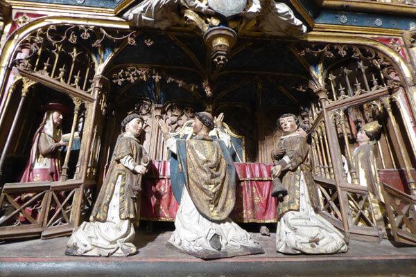 3. Misa de San Gregorio.