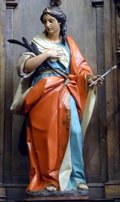 Santa Apolonia.