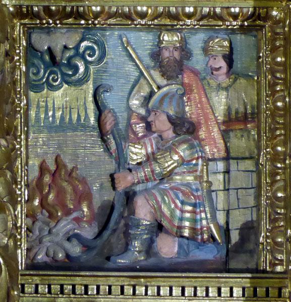 10. Incineración de los huesos del Bautista.