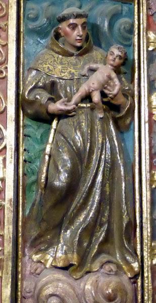 d. San Antonio de Padua.