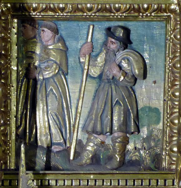 12. Traslado de las reliquias del Bautista a Constantinopla.