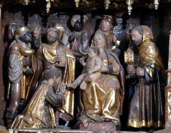 9. Adoración de los Magos ó Epifanía.