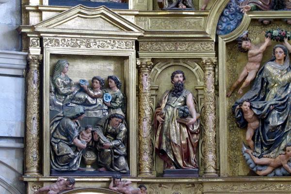 1.- Nacimiento de la Virgen.