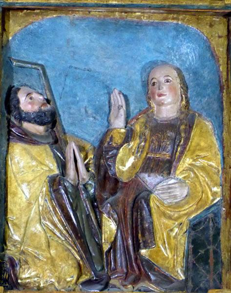1.- San José y la Virgen.