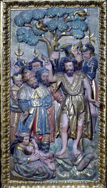 5. Predicación de Juan el Bautista.