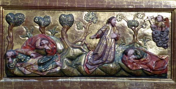 8. Oración en el huerto de los olivos.