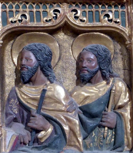 a4. San Judas Tadeo o San Matías y Santo Tomás.