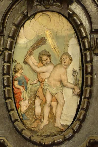Martirio de San Vicente.