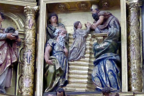 2.- Presentación de María en el Templo.