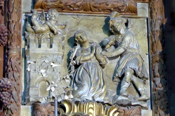4. Martirio de Santa Constanza.