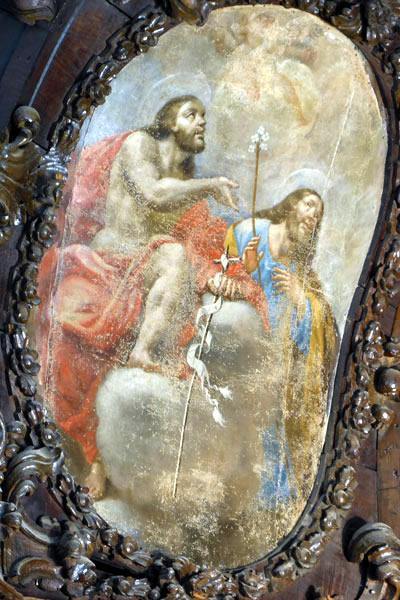 d. Cristo y San José.