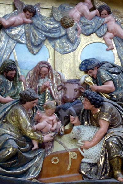 4.- Adoración de los Pastores.