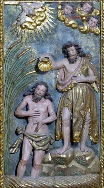 6. Bautismo de Cristo.