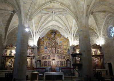 Iglesia de Andra Mari (Galdakao) retablo