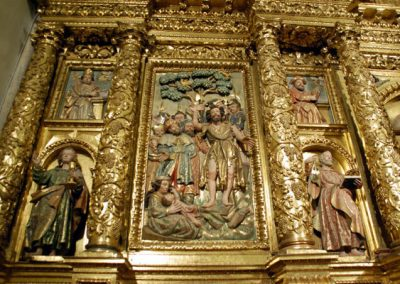 Retablo Mayor de San Juan Bautista (Gordexola) decoración
