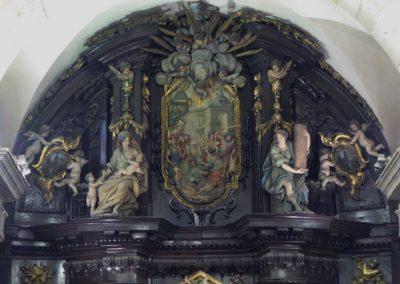 Retablo San Nicolás de Bari (Bilbao) ático