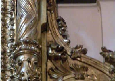 Retablo Lateral de San José (Markina - Xemein) volutas