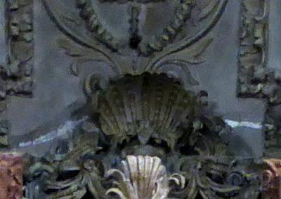 Retablo de la Sagrada Familia (Orduña) emblemas