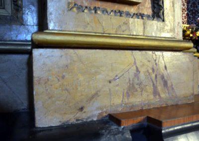 Retablo de la Sagrada Familia (Orduña) jaspes