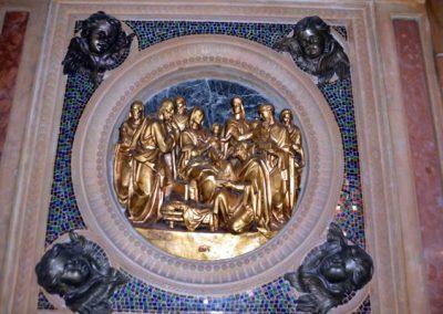 Santuario de Santa María de la Antigua (Orduña) adoración