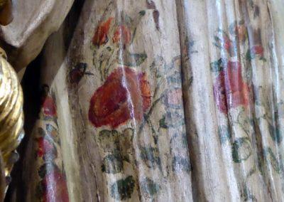 Retablo Lateral de San José (Markina - Xemein) florales